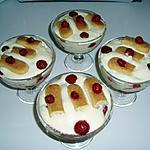 recette tiramisu aux framboises aromatisé aux aromes  de citron meringué
