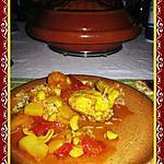 recette Byriani au poulet, noix de cajou et fruits secs
