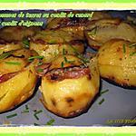 recette Pommes de terre farcies au confit de canard et au confit d'oignon