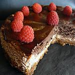 recette CHEESECAKE CHOCOLAT FRAMBOISE