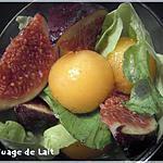 recette Salade de Figue au Melon à l'Huile d'Argan