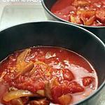 soupe de l'hiver - tomate chorizo