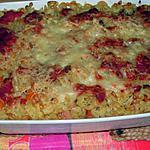 recette Gratin de pâtes à la Hongroise