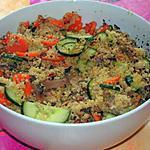 recette Quinoa aux légumes