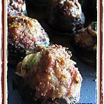 recette Champignons farcis gratinés au parmesan