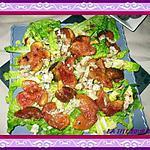 recette Salade aux figues roties, gingembre et bleue de bresse