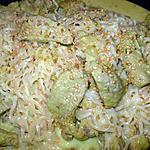 recette Dinde et nouilles saveur d'Asie