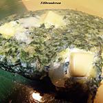 recette Omelette aux epinards
