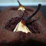recette Cake au chocolat et aux poires entières