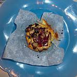 recette Nid de pâtes aux champignons
