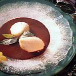 recette Mousse aux poires sauce choco