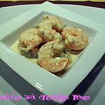 Endives aux crevettes roses