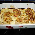 recette tranche de porc à la crème et moutarde gratinée