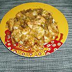 recette crevette et poireaux mixés à la sauce soja