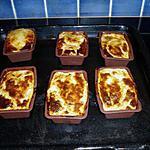 recette crevette poireau (façon flan)
