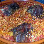 recette Souris d'agneau aux avoines et à la tomate
