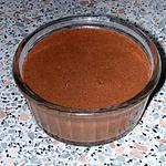 recette Mousse  chocolat-caramel