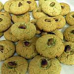 recette petit biscuit au pistachio