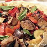 recette tarte de brick aux légumes frais