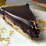 recette TARTE CHOCOLAT CITRON