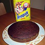 recette Super facile le gâteau Nesquik