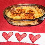recette grattin d'aubergine tomate et jambon