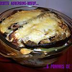 recette Cocotte aubergine-boeuf & pommes de terre