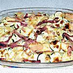 recette Mille-Feuille de courgette, p-d-t, Comté, Jambon