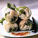 recette Rouleaux de printemps au crabe sauce aigre-douce à la vanille