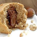 recette Petits Moelleux Farine de Châtaigne, Miel & Coeur Chocolat au Lait