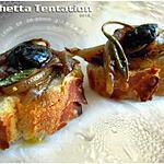 recette Bruschetta Tentation