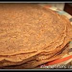 recette galettes au sarrasin et à la farine de riz