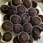 recette MINI FONDANTS TRÈS CHOCOLAT