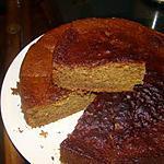 Gâteau allemand au miel et au café