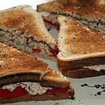 recette Tuna salad sandwich: radis et céleri