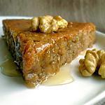 recette Gâteau aux Noix et au Miel