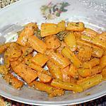 recette carottes à l'orientale