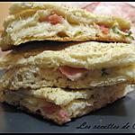 recette Focaccia au fromage de chèvre et jambon fumé
