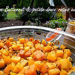 Ooo Courge butternut et patate douce rôties au thym ooO