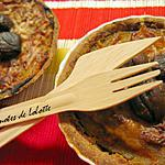 recette Tartelettes butternut, châtaignes, lardons et pointe de cannelle