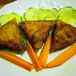 recette Briouates au saumon