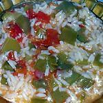 recette Riz au poivron et à la tomate