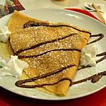 recette crêpe sucrée au chocolat et a la chantilly
