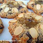 recette Cookies au lemon curd et aux amandes