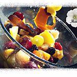 recette salade de fruits automnale