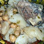 recette Tajine de topinambour à la viande.
