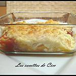 recette Crumble de tomate, chèvre et basilic