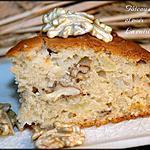 recette Gâteau à la pomme et noix