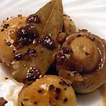 recette Champignons marinés