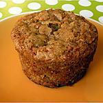 recette Muffins aux flocons d'avoine et pommes